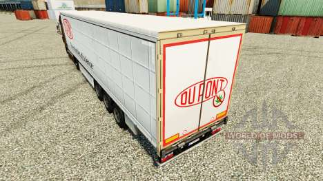 Skin Du Pont for trailers for Euro Truck Simulator 2