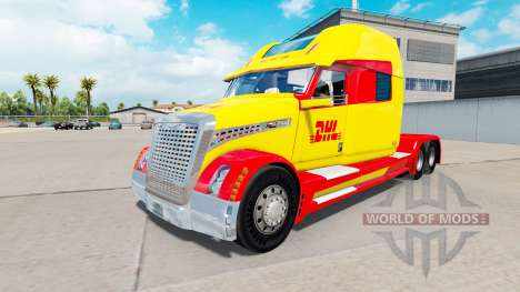 Skin DHL for a truck Concept truck 2020 for American Truck Simulator
