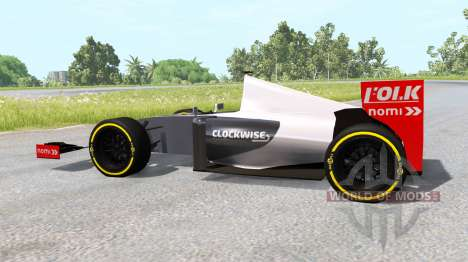 A formula 1 car for BeamNG Drive