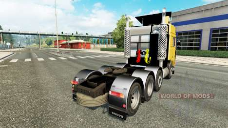 Volvo F10 8x4 for Euro Truck Simulator 2