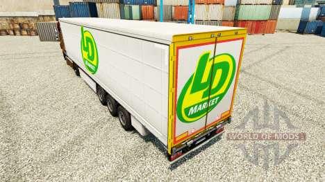 Skin LD Market for trailers for Euro Truck Simulator 2