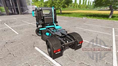 MAN TGS 18.480 limited edition for Farming Simulator 2017