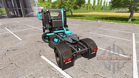 MAN TGS 18.480 limited edition for Farming Simulator 2017