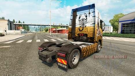 Scorpion skin for Volvo truck for Euro Truck Simulator 2
