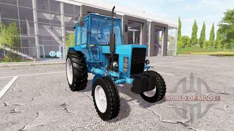 MTZ-80, Belarus v2.0 for Farming Simulator 2017
