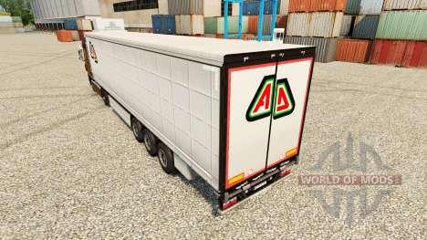 Skin Adin on semi for Euro Truck Simulator 2