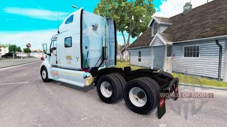 Mercer skin for the truck Peterbilt 387 for American Truck Simulator