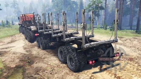 KamAZ Swamp for Spin Tires