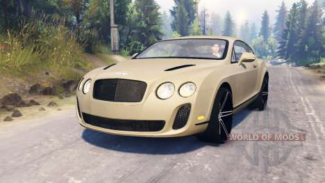 Bentley Continental Supersports for Spin Tires
