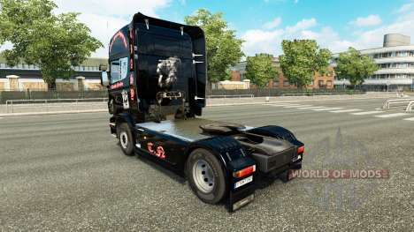 Skin Crasy Trans Logistic v2.0 truck Scania for Euro Truck Simulator 2