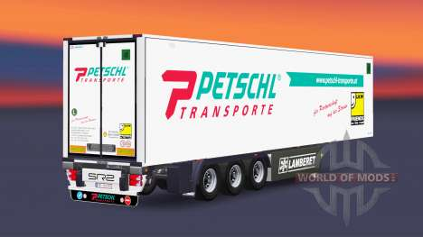 Semitrailer reefer EN Petschl for Euro Truck Simulator 2