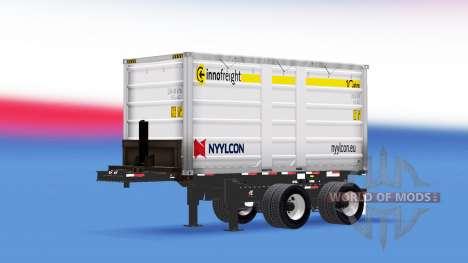 A semi-truck Nyylcon for American Truck Simulator
