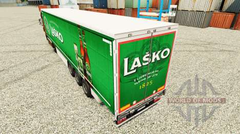 Lasko skin for trailers for Euro Truck Simulator 2