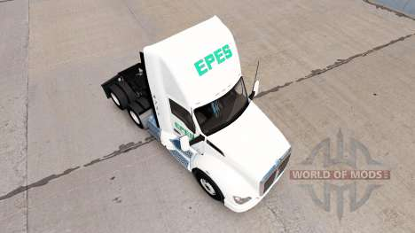 Скин Epes Transport daycab на Kenworth T680 for American Truck Simulator