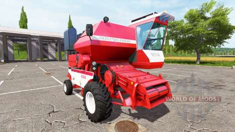 Rostselmash SK-5МЭ-1 Niva-Effect red v1.1 for Farming Simulator 2017