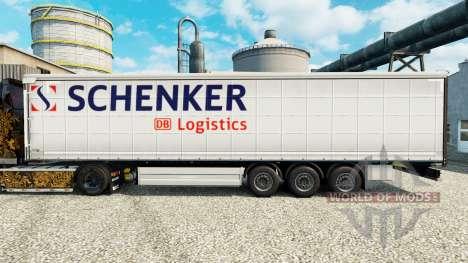 Skin Schenker Logistics to trailers for Euro Truck Simulator 2