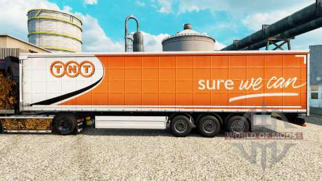 Skin TNT Express semi for Euro Truck Simulator 2