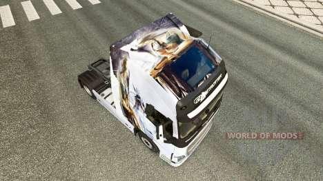 Skin Drache v1.1 tractor Volvo for Euro Truck Simulator 2