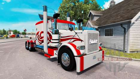 Skin Jammin Gears for the truck Peterbilt 389 for American Truck Simulator