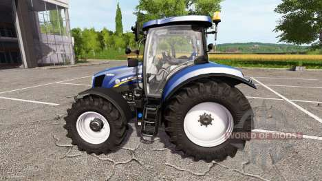 New Holland T6.160 blue power for Farming Simulator 2017