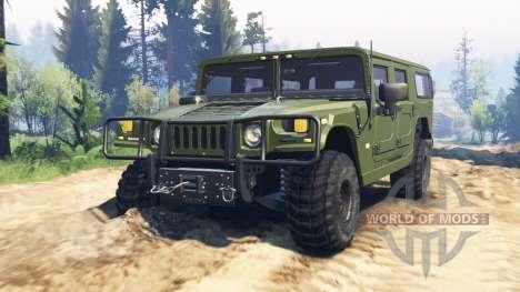 Hummer H1 v2.0 for Spin Tires