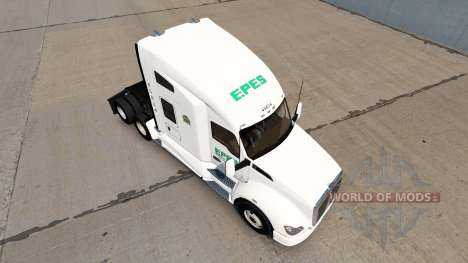 Epes Transport skin for Kenworth T680 tractor for American Truck Simulator
