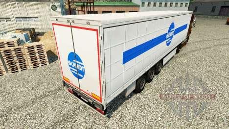 Schmidt Heilbronn skin for trailers for Euro Truck Simulator 2