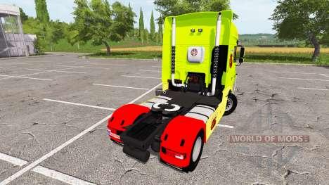 DAF XF Super Space Cab tuning for Farming Simulator 2017