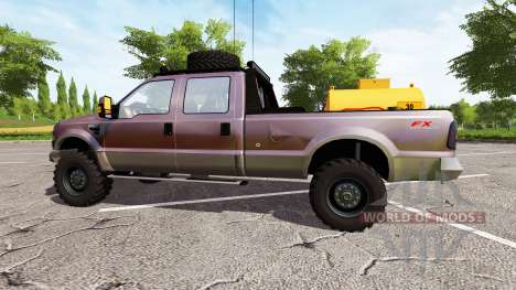 Ford F-250 FX4 king ranch for Farming Simulator 2017