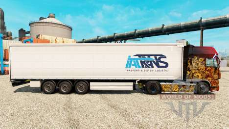 Skin Trans IAT trailers for Euro Truck Simulator 2