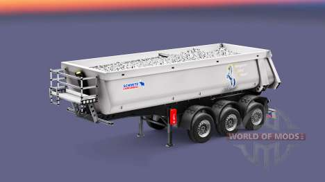 Semi-trailer tipper Schmitz TMC for Euro Truck Simulator 2