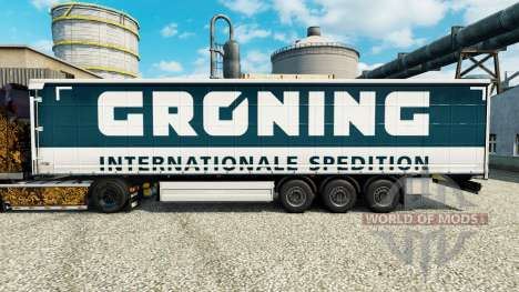 Skin Groening for trailers for Euro Truck Simulator 2