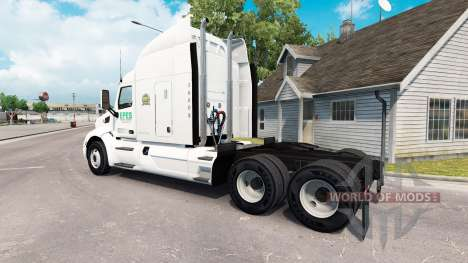 Epes Transport skin for the truck Peterbilt 579 for American Truck Simulator