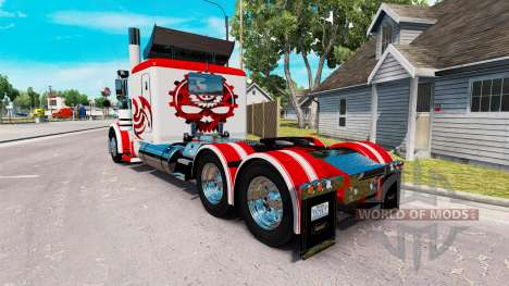 Skin Jammin Gears for the truck Peterbilt 389 for American Truck Simulator