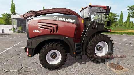 Krone BiG X 580 tuning edition for Farming Simulator 2017