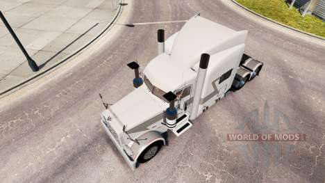 Bullhorn skin for the truck Peterbilt 389 for American Truck Simulator