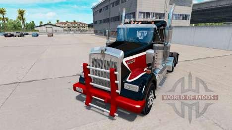 Heavy Duty bumper for Kenworth W900 for American Truck Simulator