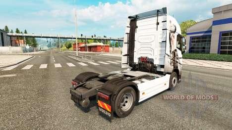Sexy Fantasy skin for Volvo truck for Euro Truck Simulator 2