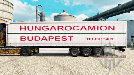 Skin Hungarocamion Budapest on semi for Euro Truck Simulator 2