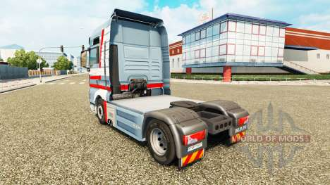 Skin A. Ebner on tractor MAN for Euro Truck Simulator 2