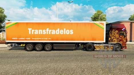 Skin Transfradelos for trailers for Euro Truck Simulator 2