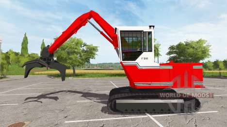 The boom log loader for Farming Simulator 2017