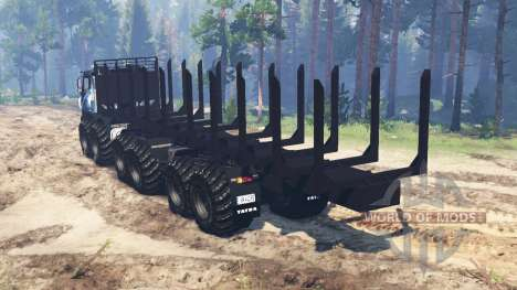 Tatra Terrno 12x12 for Spin Tires