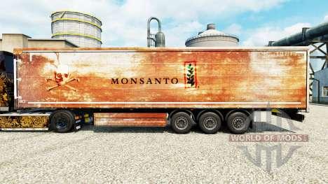 Skin Monsanto for trailers for Euro Truck Simulator 2