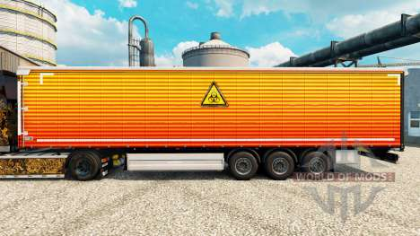 Skin Unclear on semi for Euro Truck Simulator 2