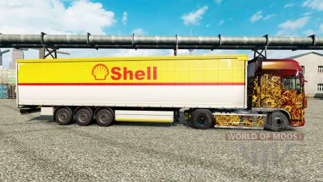 Skin Shell for semi-trailers for Euro Truck Simulator 2
