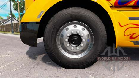 New rims and tires for American Truck Simulator