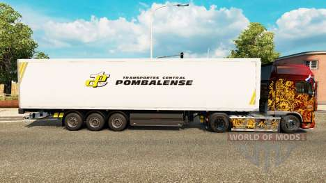 Skin Pombalense for trailers for Euro Truck Simulator 2