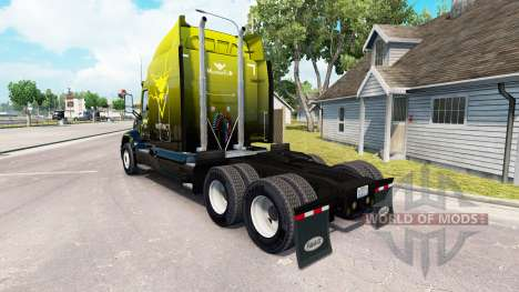 Skin Instinct on the tractor Peterbilt 579 for American Truck Simulator