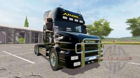 Scania T164 Apache for Farming Simulator 2017